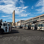 Department of Sanitation Facility, West 215th Street, Inwood, New York City
