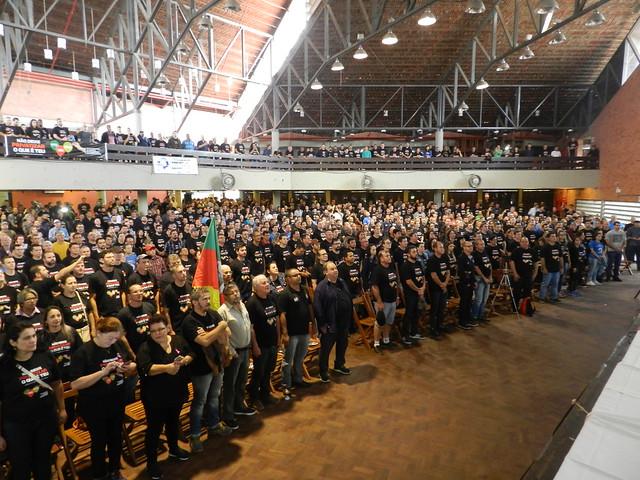 Assembleia Geral e ato no Palácio Piratini - 10/10/2017