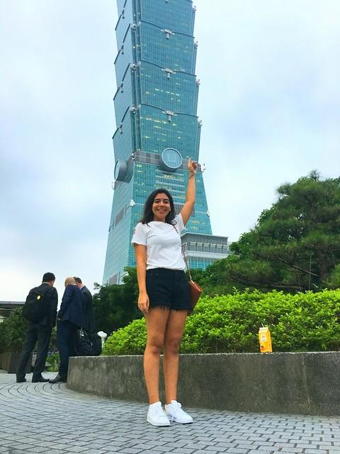 Destaca primera alumna de intercambio en Taiwán