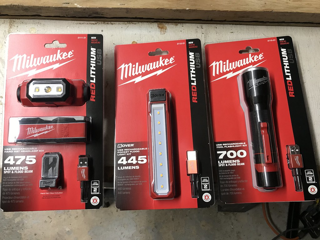 ... an alkaline battery headl& and pen light and a series of USB rechargeable lithium-ion lights based on the Milwaukee REDLITHIUM platform. & Toolbox Tuesday: Milwaukeeu0027s New USB Rechargeable Personal ... azcodes.com