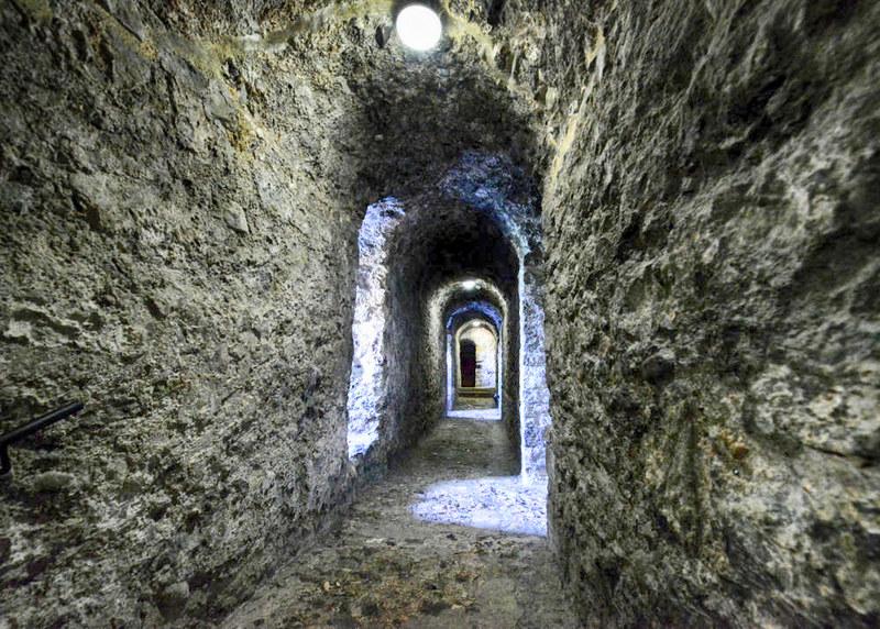 Dover Castle tunnels. Credit Hartlepoolmarina2014