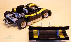 LEGO  Vintage Endurance Racecar