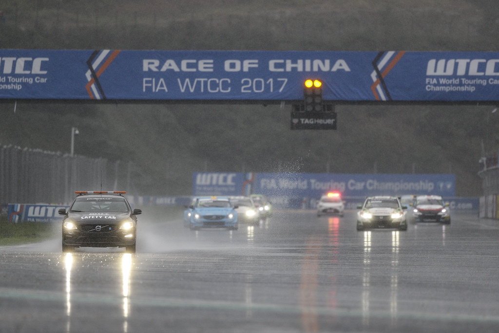 voiture de securite safety car  during the 2017 FIA WTCC World Touring Car Championship at Shanghai, China, ningbo,13 to 15 - Photo Frederic Le Floc'h / DPPI