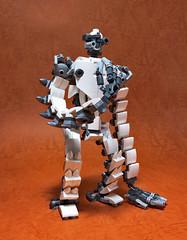 LEGO LAPUTA Robot Soldier-01