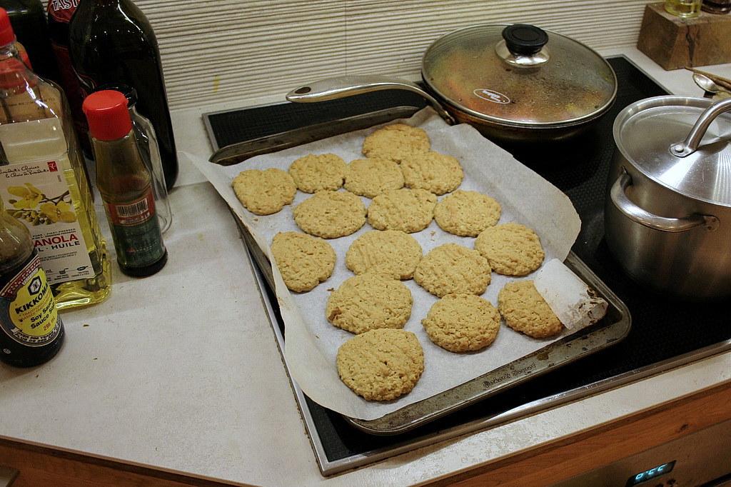 my homemade oatmeal cookies! 1