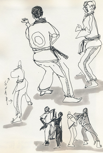 Sketchbook #107: My Life Drawing CLass