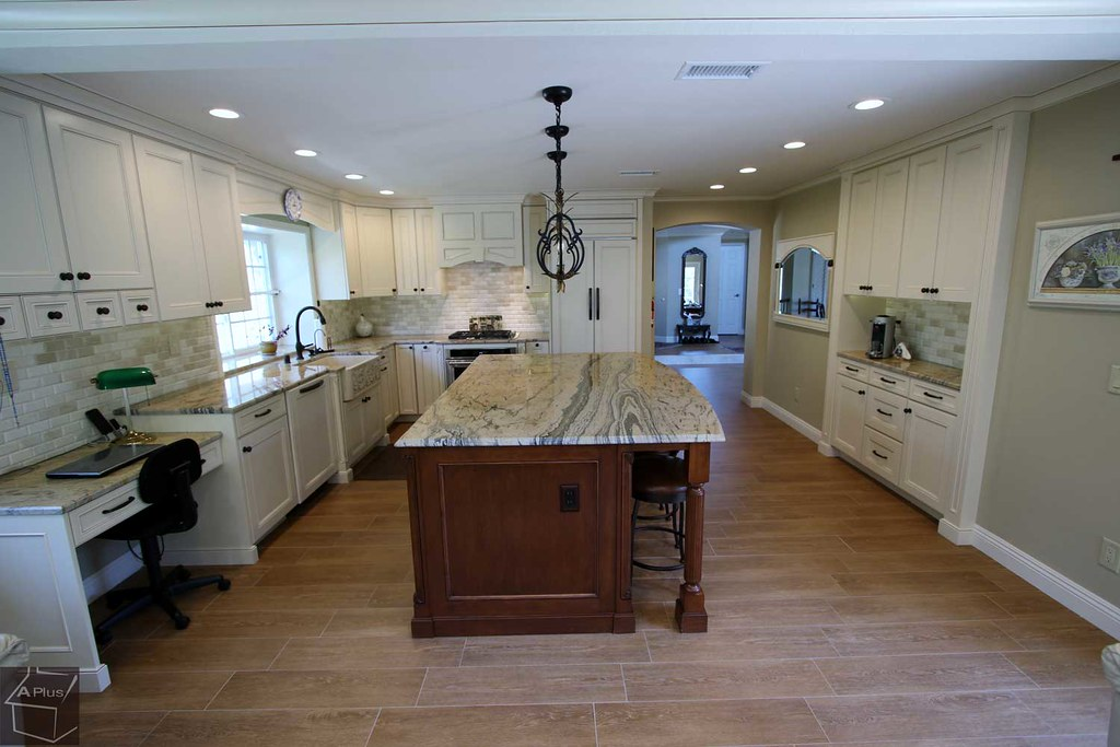 Traditional Complete Kitchen Remodel With Custom Cabinets Flickr