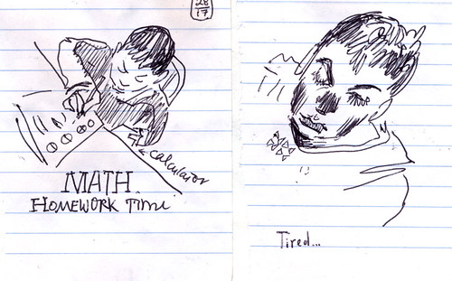 Sketchbook #108: Homework