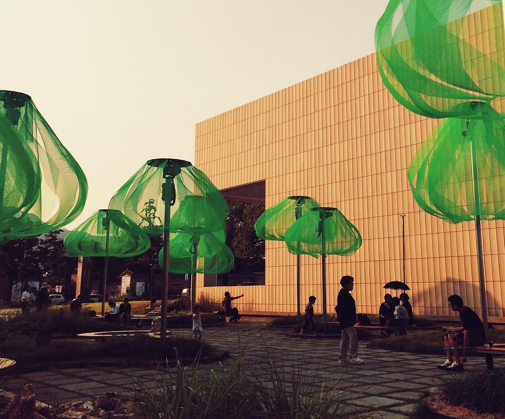 Modern Art Installation at MOMA Seoul.