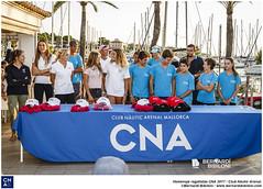 Homenaje regatistas CNA.