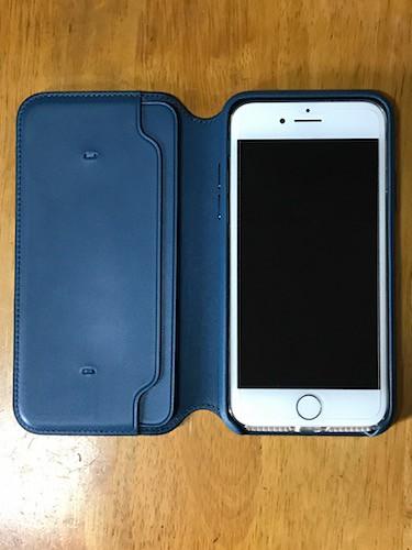 iPhone8を入れる