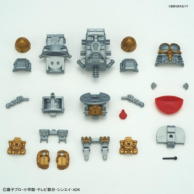 從內部構造開始製作!Figure-rise Mechanics《哆啦A夢》哆啦A夢 / 哆啦美(ドラえもん/ドラミ)