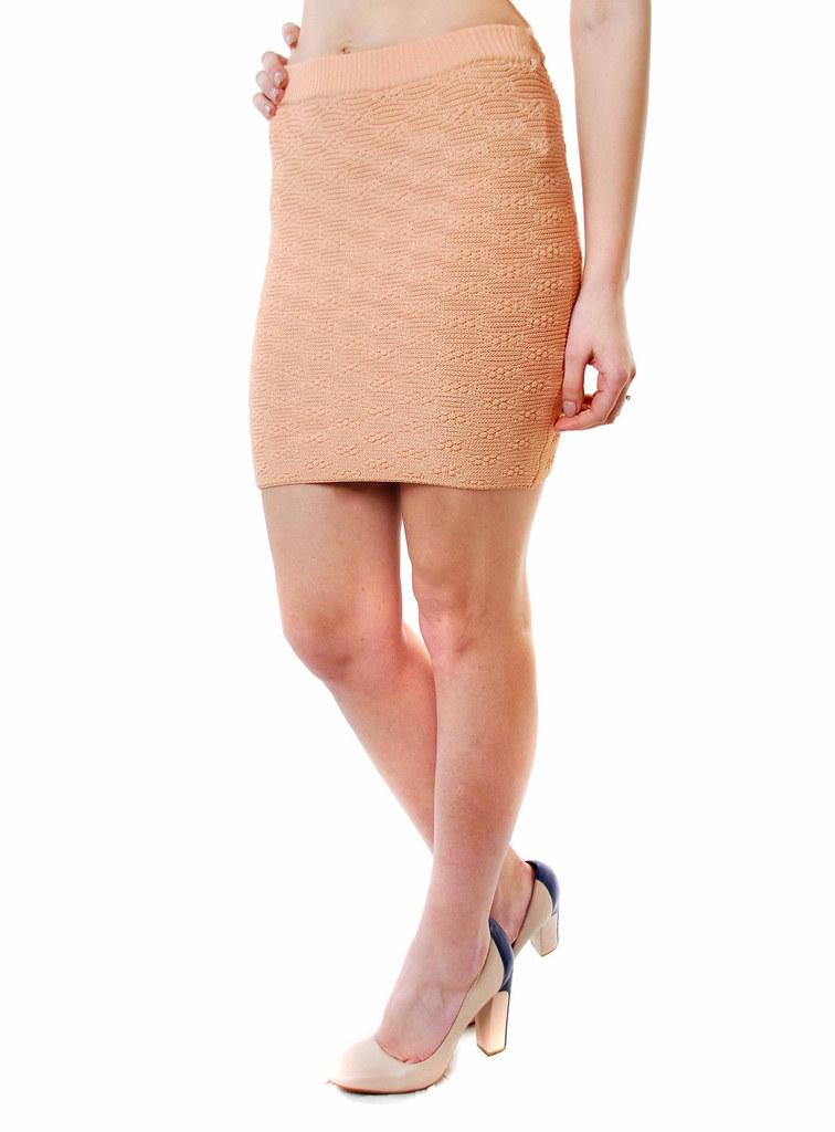 Kleidung & Accessoires For Love & Lemons Knitz Damen Ziggy Elastic Striped Minirock Schwarz Bcf69 Damenmode