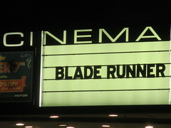 Blade Runner 2049 Theater Marquee 2017 NYC 2338