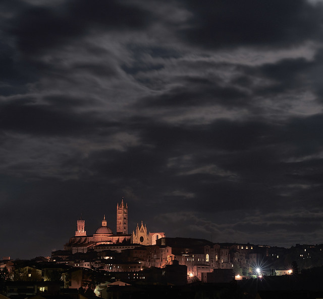 Clouds over Siena
