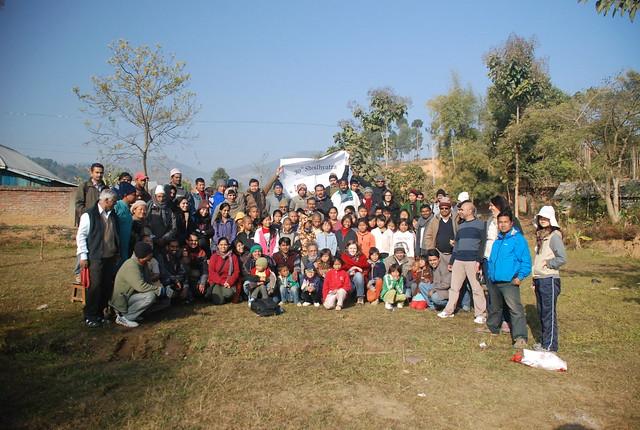 30th Churachandpur to Tuilumjang (Manipur) January, 2013