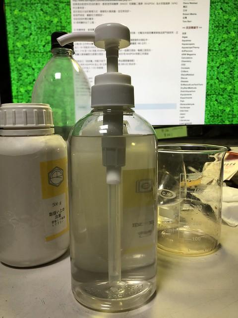 水草液肥配制