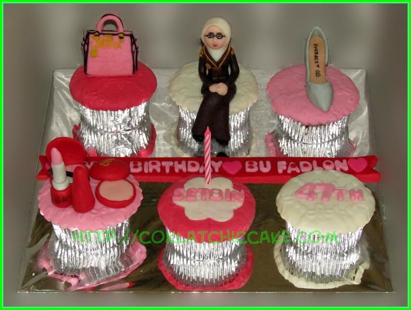 Cupcake set ibu Fadlon