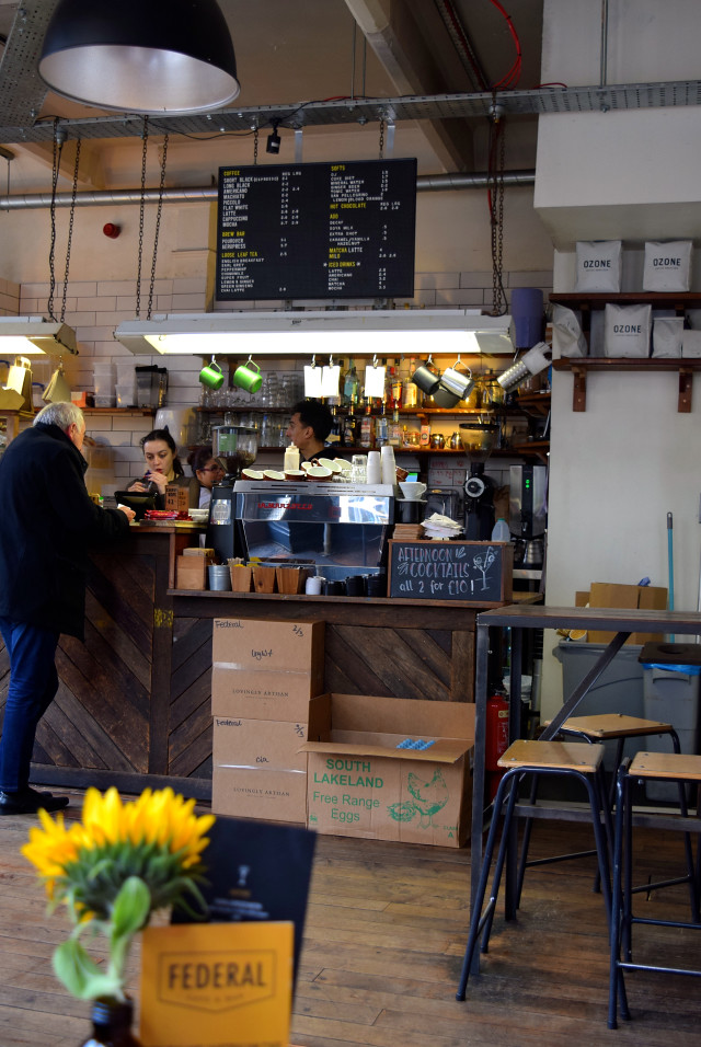 Federal Bar & Cafe, Manchester | www.rachelphipps.com @rachelphipps