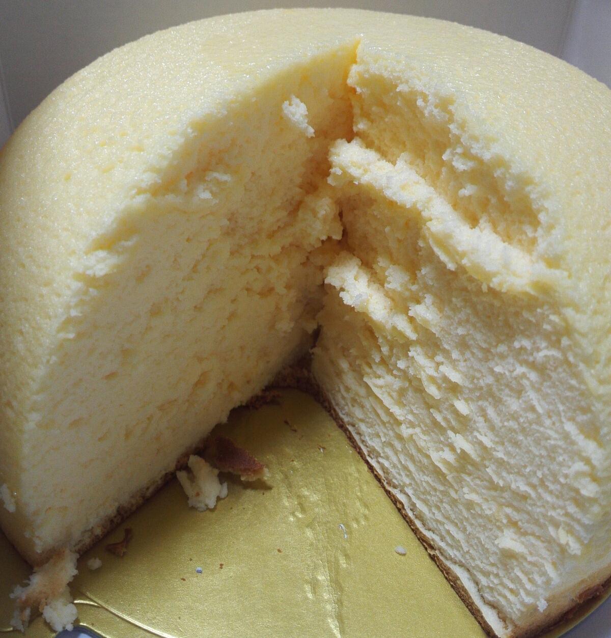 豆畑のスフレチーズケーキ