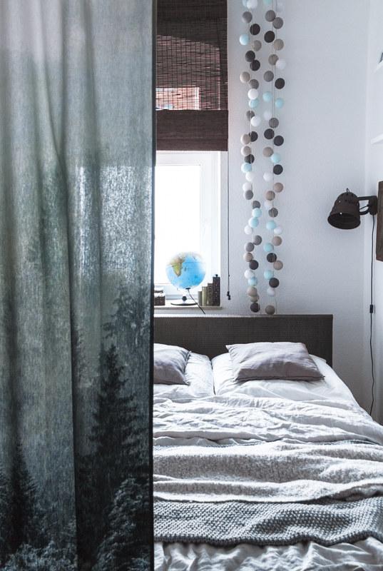 Blog-Inneneinrichtung-kleines-Schlafzimmer-Bettvorhang-Interior-Inspiration