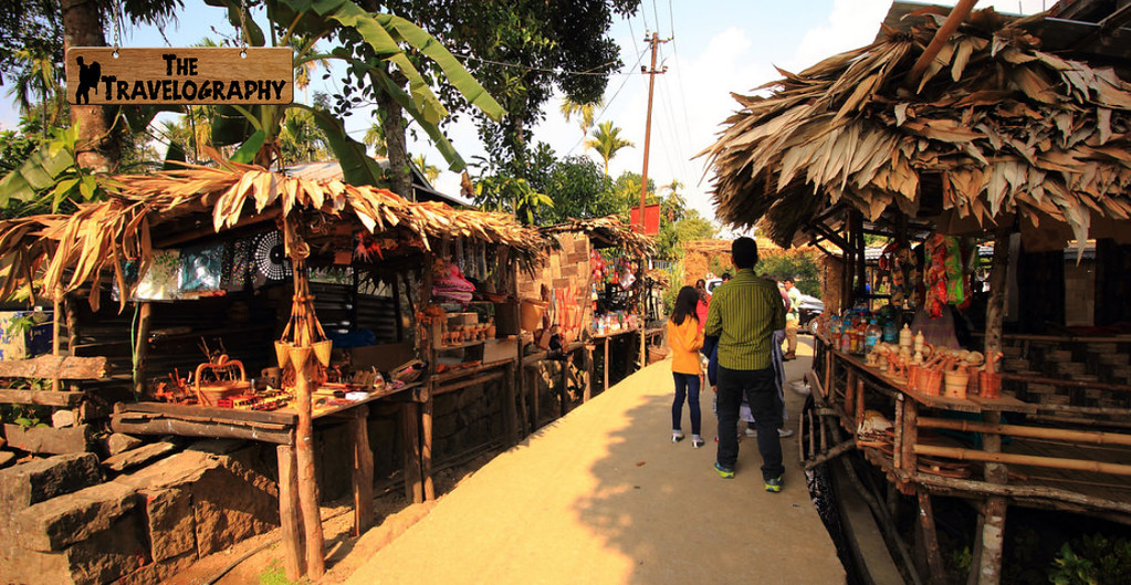 mawlynnong asia s cleanest village market - The Travelography