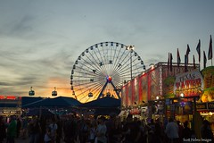 Sunset from the Midway