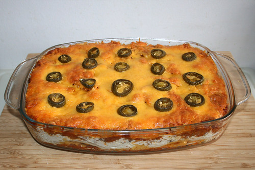 64 - Nacho Lasagne - Fertig gebacken / Finished baking