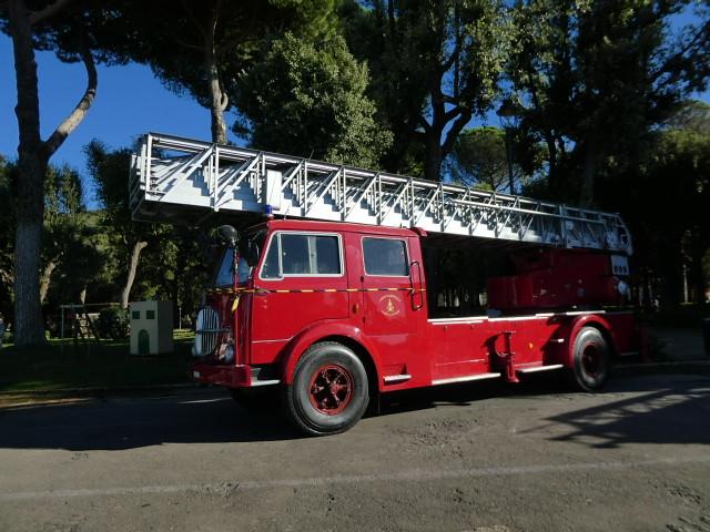 Old fire engine, Villa Torlonia Public Park