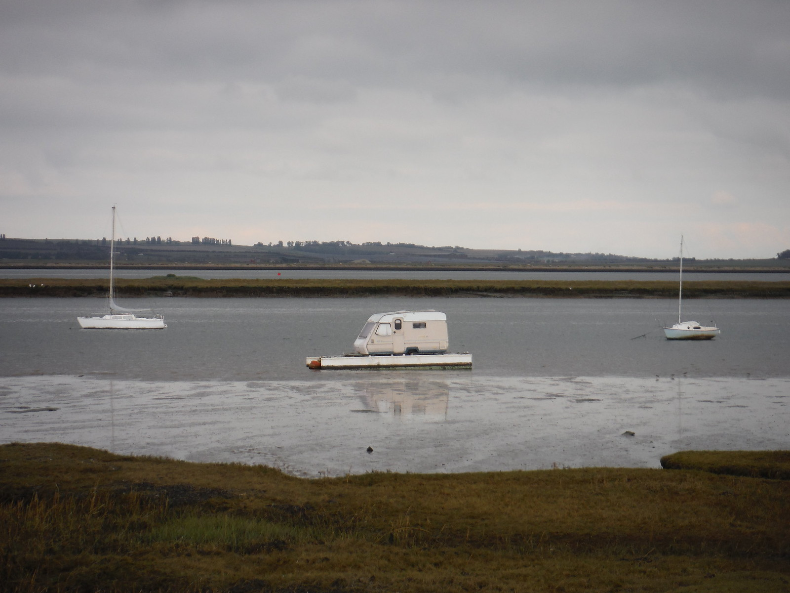 Anchored in the South Deep SWC Walk 299 - Teynham to Faversham