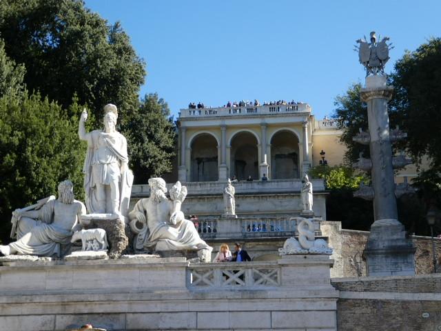 Terrazza del Pincio, Rome