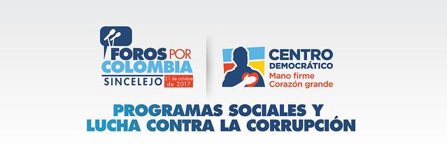 Foros por Colombia en Sincelejo