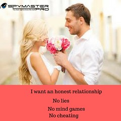 I want an honest relationship