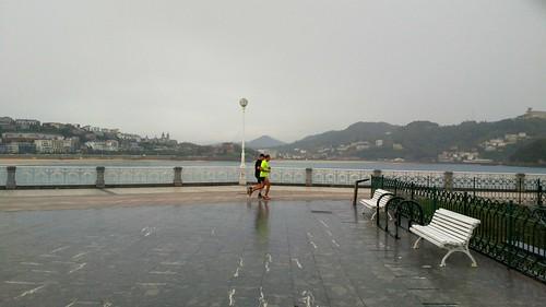 Y llegaron las lluvias! Donostia