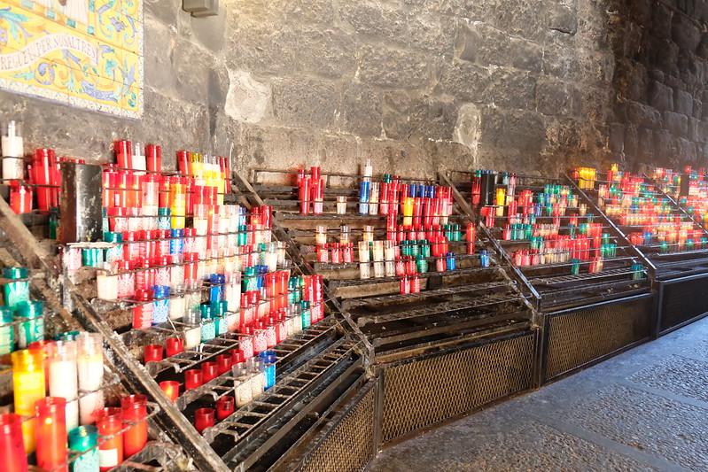 Inside the Monastery   Barcelona to Montserrat