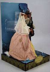 2017 Robin Hood and Maid Marian Designer Doll Set - Disney Store Purchase - Covers Off - Full Left Front View