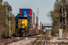 CSX 8136 | EMD SD40-2 | CSX Memphis Terminal Subdivision