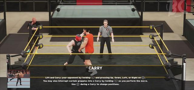 WWE 2K18  - 携带指南