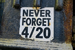 Never Forget 4/20, New York, NY