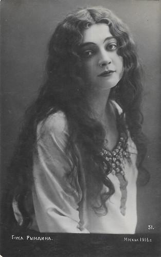 Lidiya Ryndina, 1916