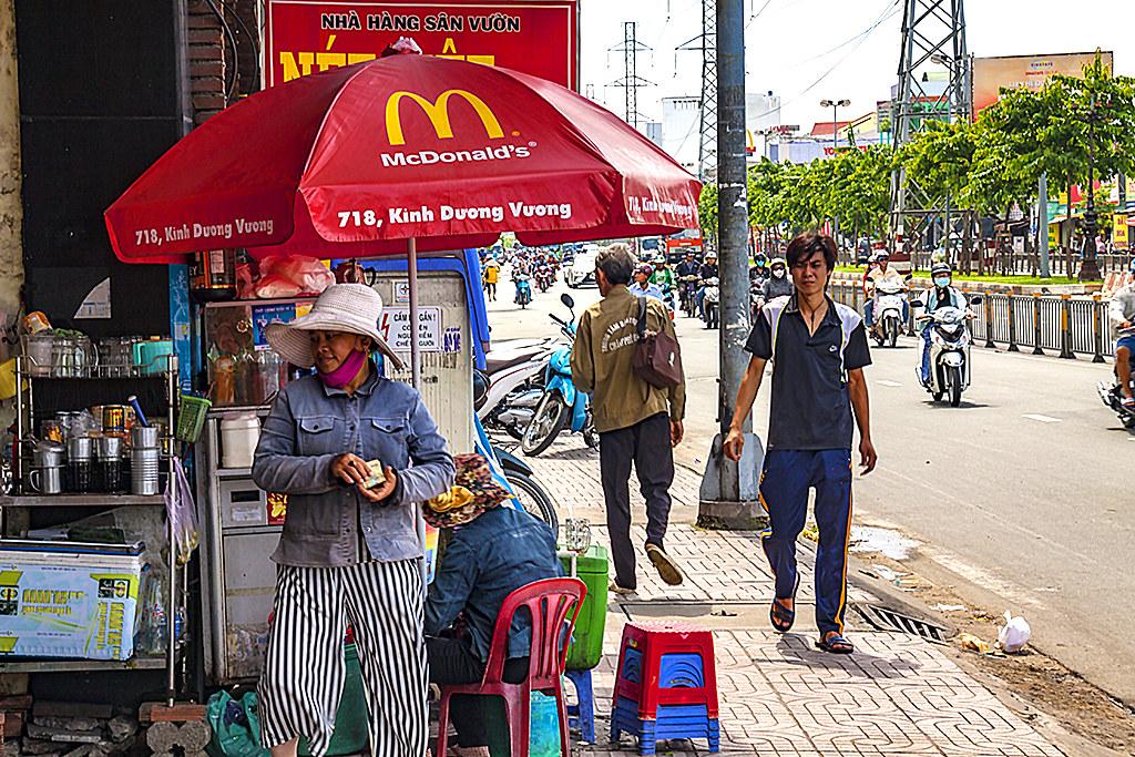 McDonald's umbrella--Saigon