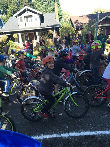 Arlo at Tour de Ladd