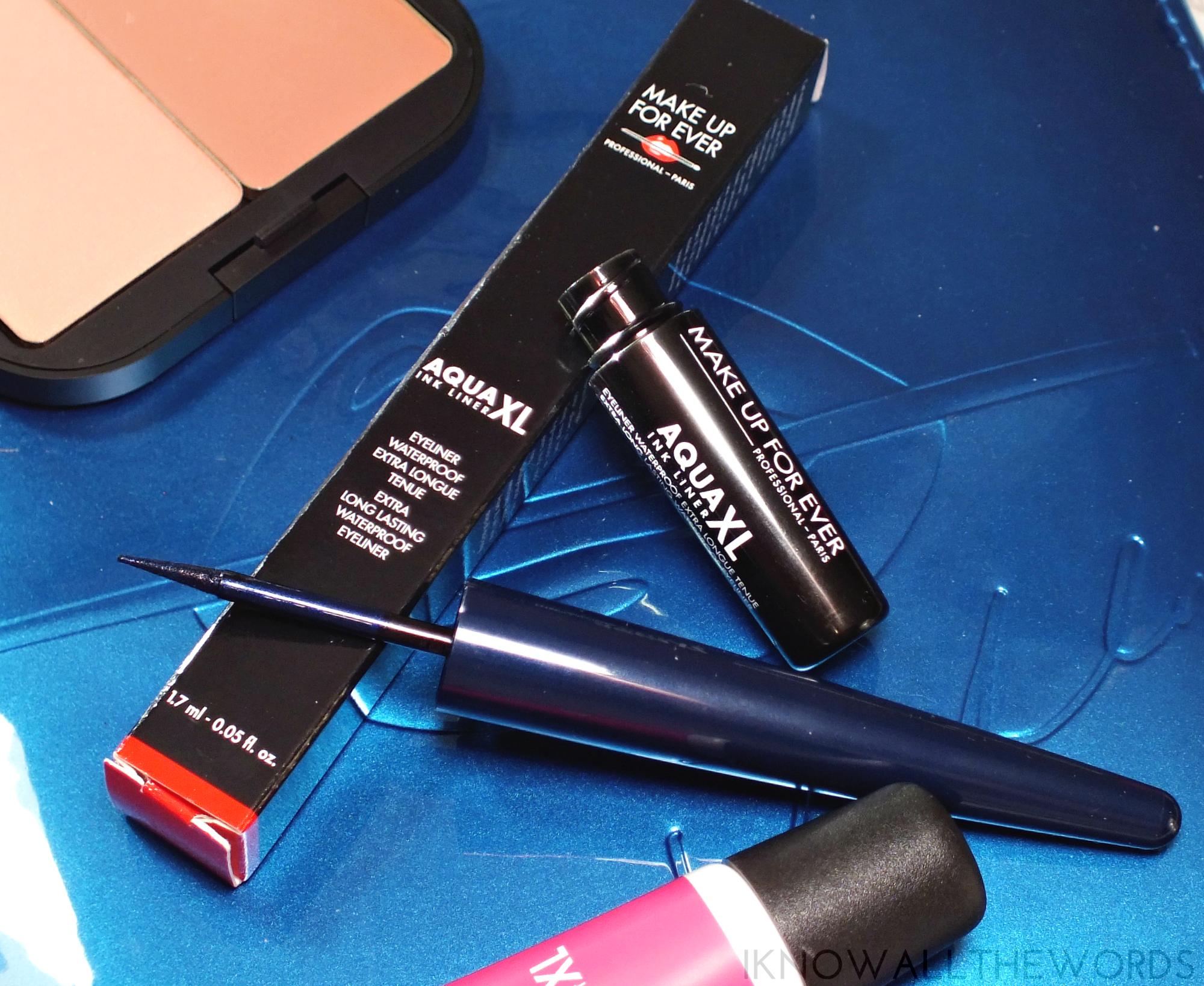 make up for ever aqua xl eyeliner L20 deep blue
