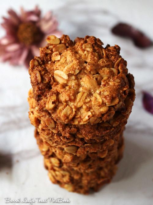 全素燕麥餅乾 (無麵粉) vegan-glutenfree-oatmeal-cookies (6)
