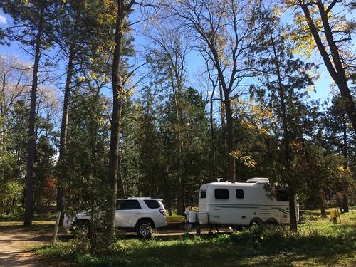 Craigleith camping 2