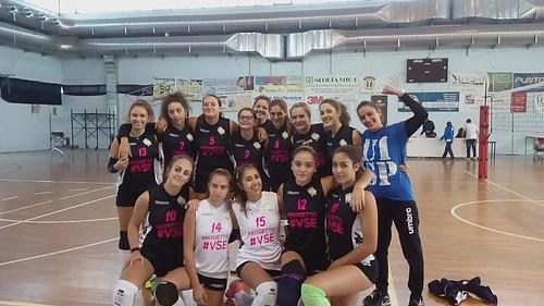 Ancora una vittoria per l'Under 16 Volley a Sud-Est della Uisp '80