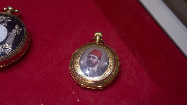 Khedive Tawfik's Golden pocket watch at Egypt's Royal Jewelry Museum