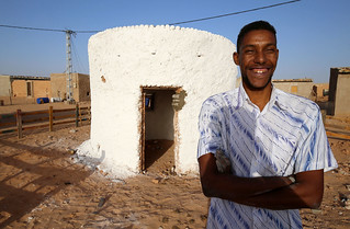 ALGERIA - Building eco-houses in Tindouf
