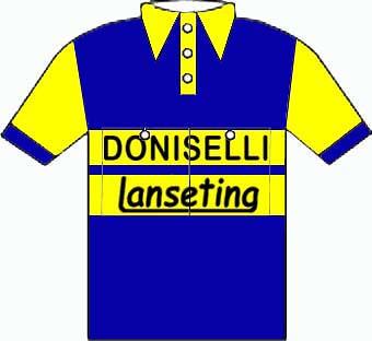 Doniselli-Lansetina - Giro d'Italia 1954