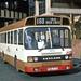 South Yorkshire PTE: 1073 (FWA473V) leaving Doncaster Bus Station